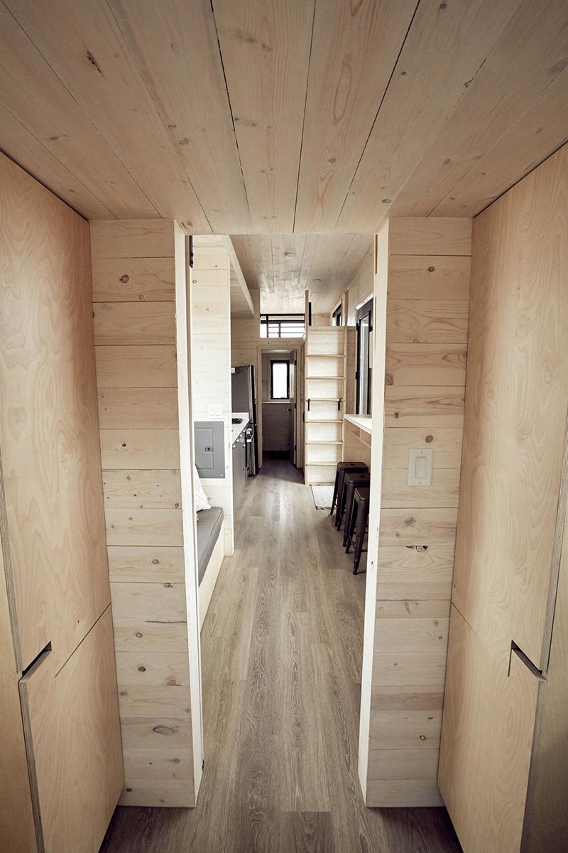 Передвижной дом-студия 33 м.