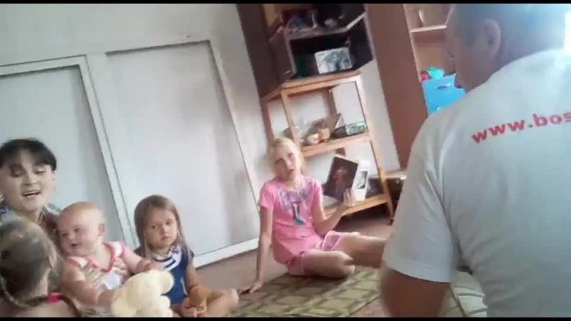 киртан в Новонежино