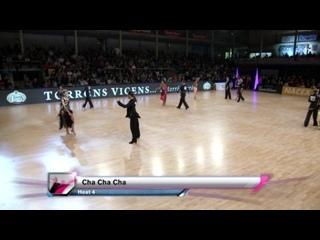 2016 GrandSlam Latin Platja dAro - Четвертьфинал (1080p)