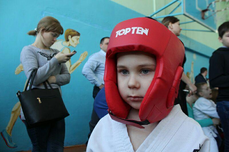 Вова Величко, 4 года, каратэ (СШ №1)