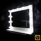Зеркало с лампочками Шарлотт