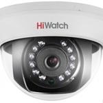 1Мп внутренняя купольная HD-TVI камера DS-T101