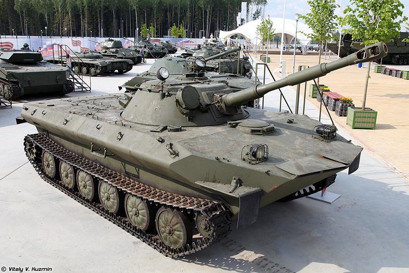 ПТ-76М — экспериментальная машина на базе ПТ-76Б