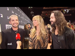 Prо 7: Kaulitz Twins and Heidi Klum at the About You Awards -