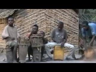 Африка ))) Дикие нравы ))) Дым над водой )))