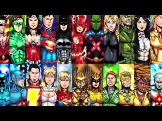 ТОП-5 сильнейших супергероев Лиги справедливости