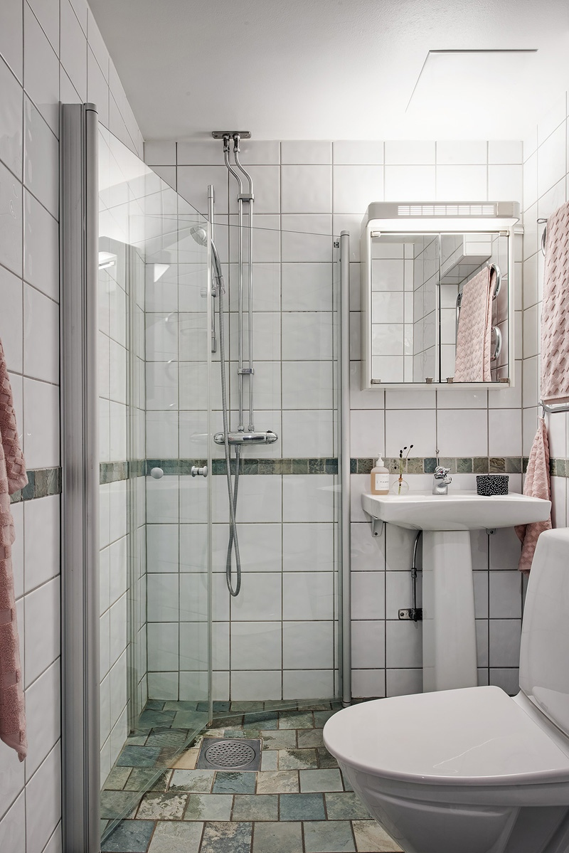 Небольшая скандинавская квартира-студия 26,5 м.