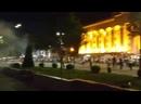 Спецназ открыл огонь по протестующим в Тбилиси