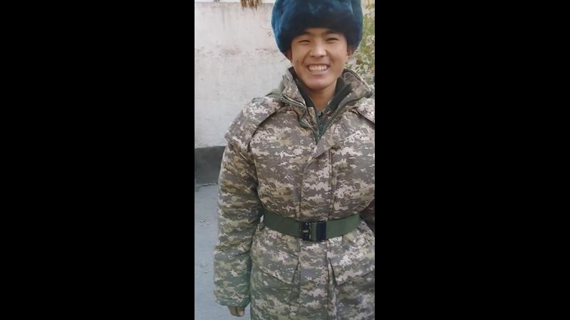 18.11.2019 Рысбек армияға шығарып салу