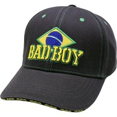 Бейсболка Bad Boy Brazilian Black