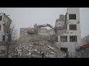 Перенос насыпи для демонтажа здания ПРОМЭКТ, Декабристов 20, 20а, 10.01.2021