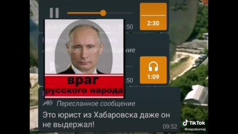 Враг русского народа правительство во главе с вв
