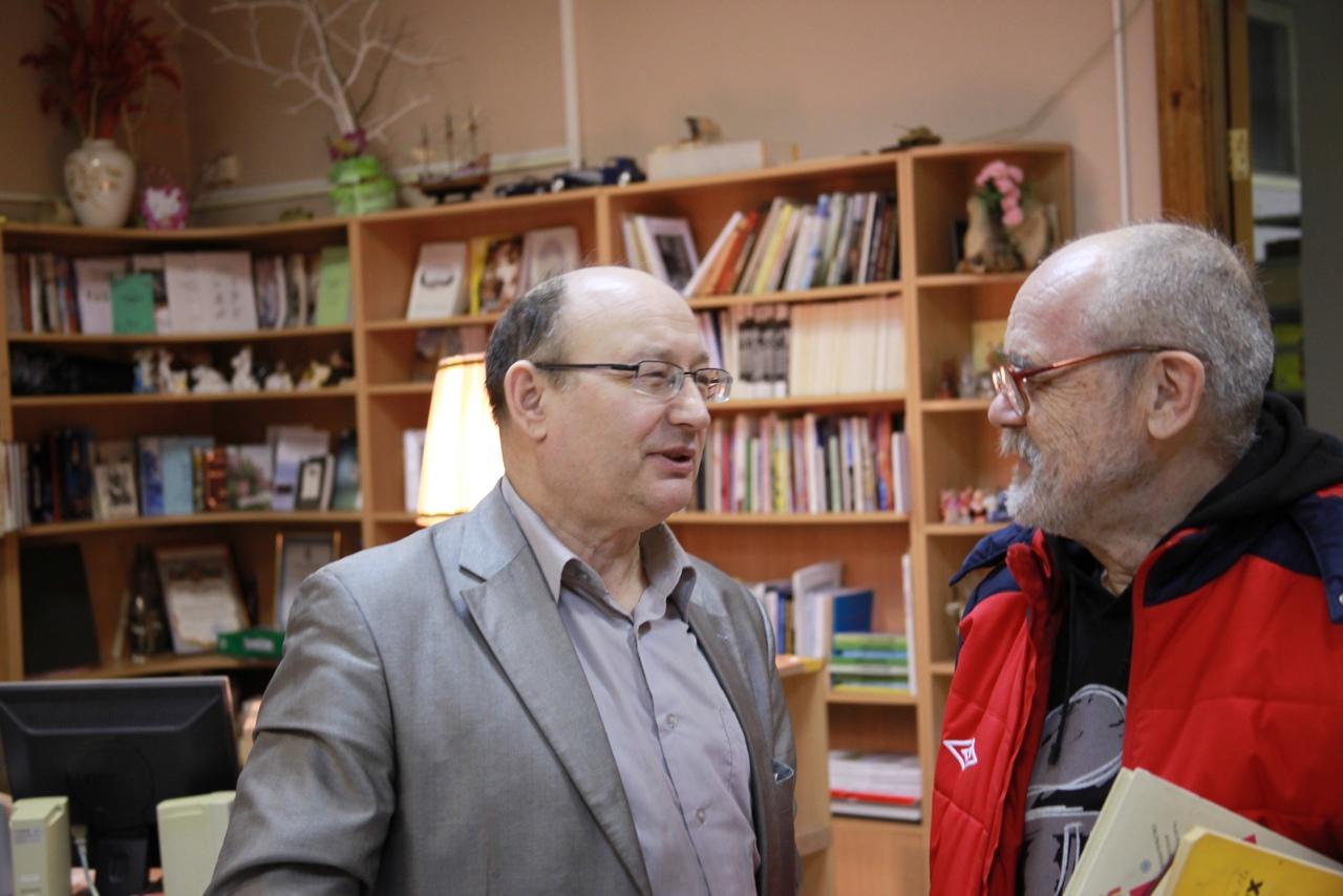 С Георгием Абраменко.