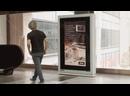 Рекламные щиты с тестом на коронавирус