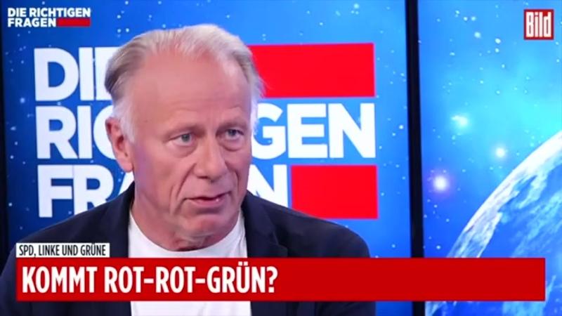 """Jürgen Trittin hält einen Grünen Kanzler für """"denkbar Die richtigen Fragen"""