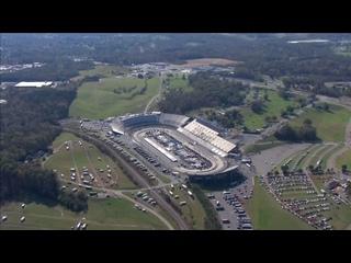 Chopper camera - Martinsville - Round 35 - 2020 NASCAR Cup Series