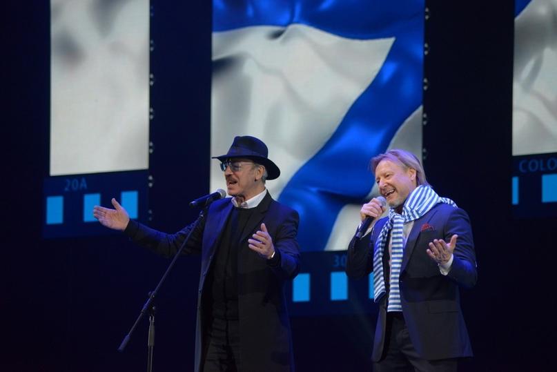 Дуэт с актером и певцом Михаилом Боярским