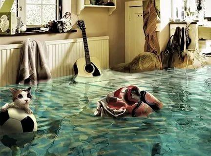 Услуги после потопа квартиры Одинцово