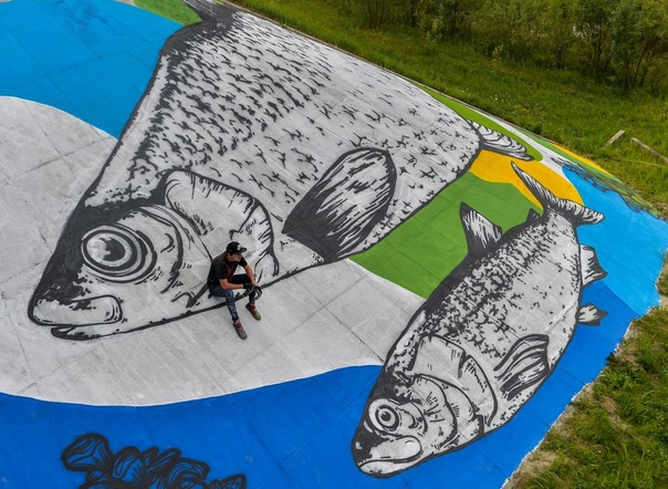 Самое крупное граффити в Югре могут перекрыть новым артом...