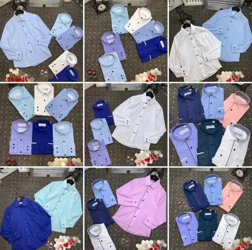 SALE   рубашки    Цена   Размер,116,122,146,152,158 рост   размер в размер   Хорошее качество,сделано в России   без выбор цвет и модель
