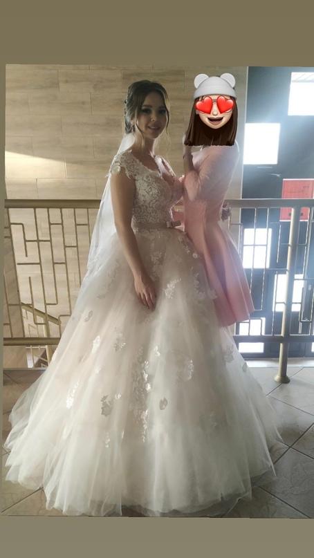 Купить Свадебное платье размер 42-46 В | Объявления Орска и Новотроицка №28938