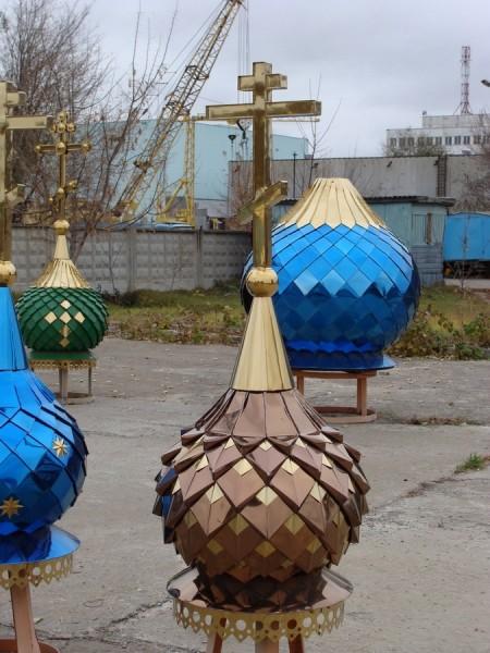 Своды храма паруса Москва