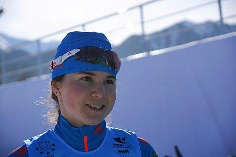 Сегодня день рождения у можгинской лыжницы Лилии