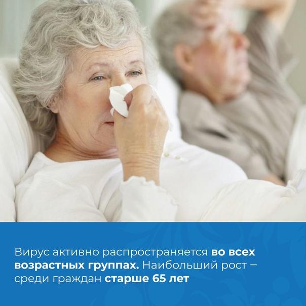 С наступлением осенних холодов заболеваемость гриппом и О...