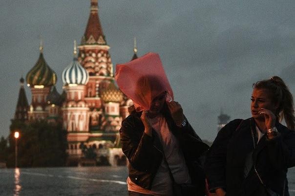 ВМоскву придет сильнейший за73 года дождьСпециал...