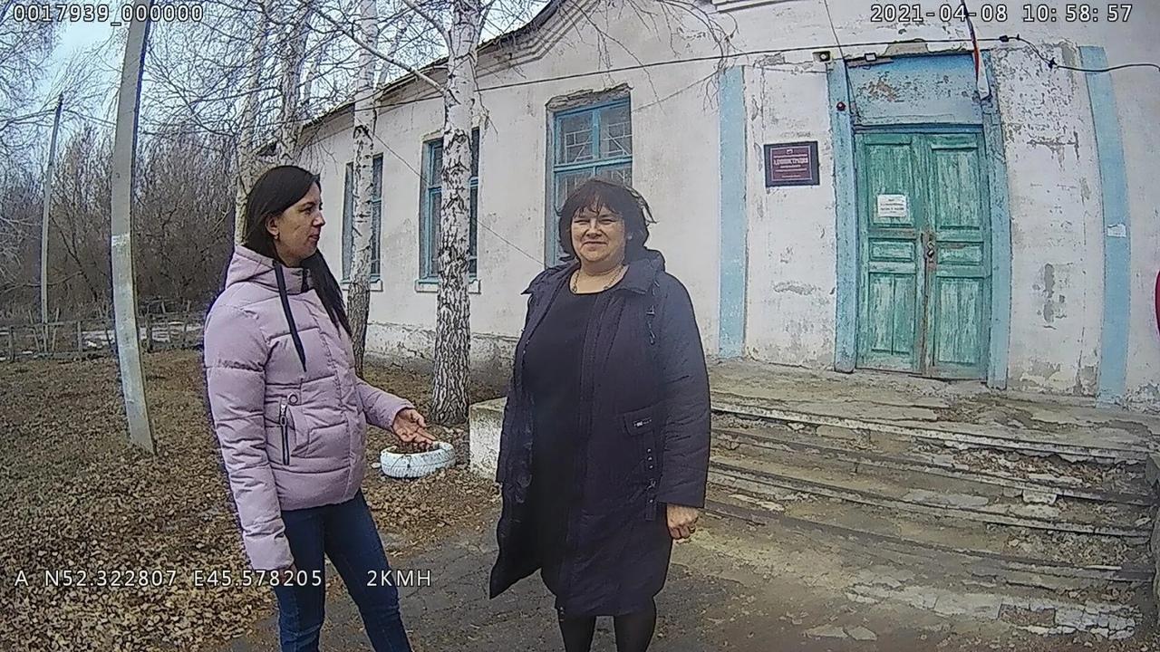 Административная комиссия провела рейд в селе Синенькие