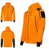 F2 оранж, флисовая куртка