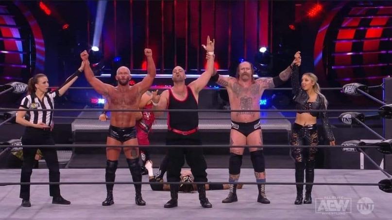 AEW Dynamite и WWE NXT 09.12.20, изображение №7