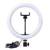 Кольцевая лампа для Selfie RK-14 M.400. (31 см.)