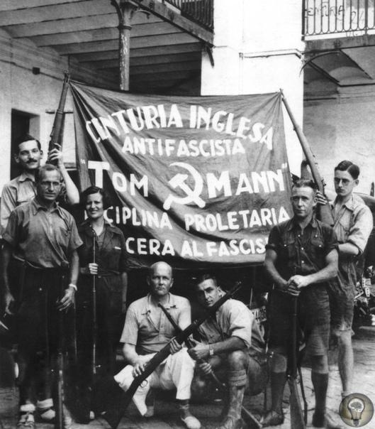 Гражданская война в Испании: на баррикадах Барселоны (1936)