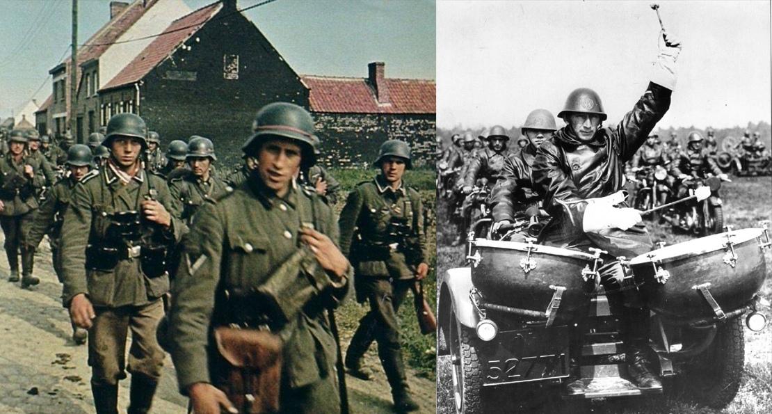 Вермахт в Голландии