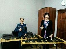 У них впервые появился ксилофон