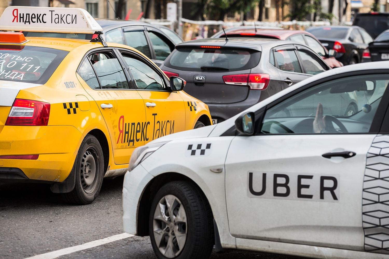 Таксисты в аэропорту Домодедово стали бороться с конкурентами, вызывая себе Uber и отменяя заказ.