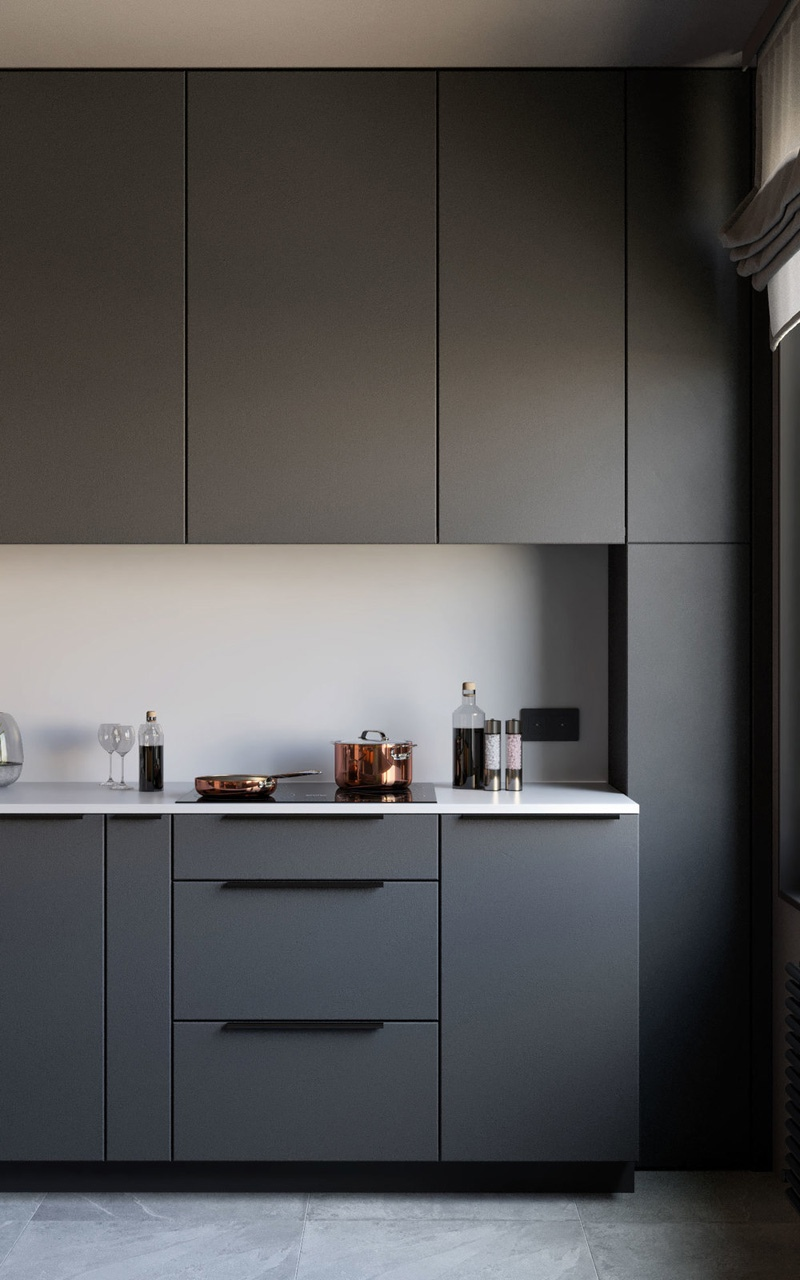 Дизайн-проект квартиры 40 м.