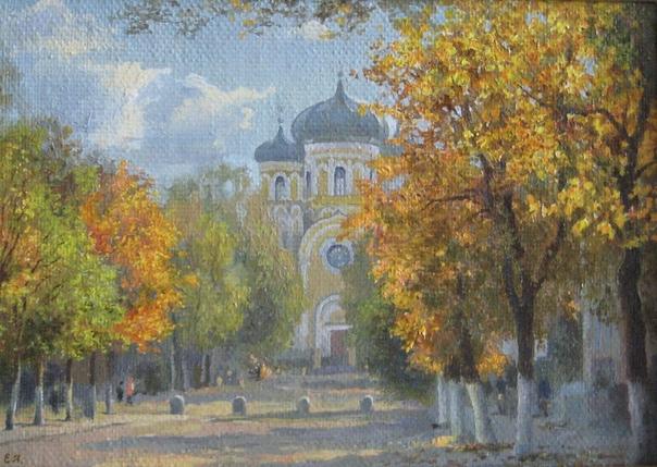 Осень в ГатчинеРабота художницы [id51082538 Екатер...