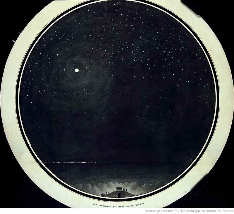 Загадка архитекторов Этьена Булле и Клода Леду идеи которому давали «сущности выходящие из тени», изображение №12