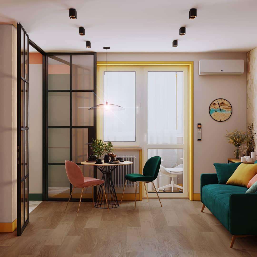 Дизайн-проект квартиры 43 кв.