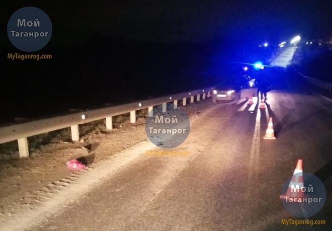 Под Таганрогом водитель «Лады Гранты» сбил пешехода