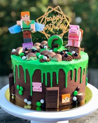 торт в майнкрафт #11