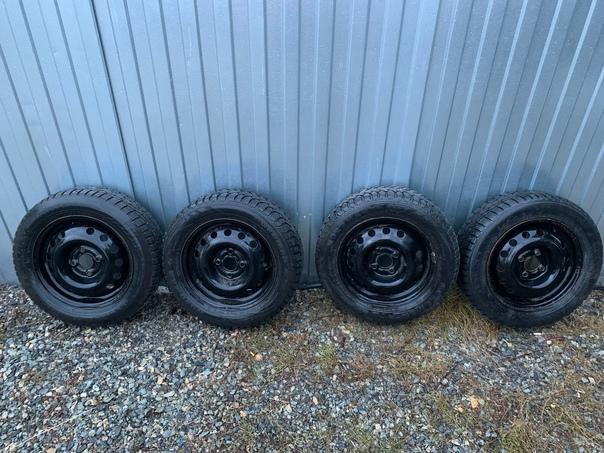 Продам колёса зима. R14 4x98 Шипов минимум цена 25...