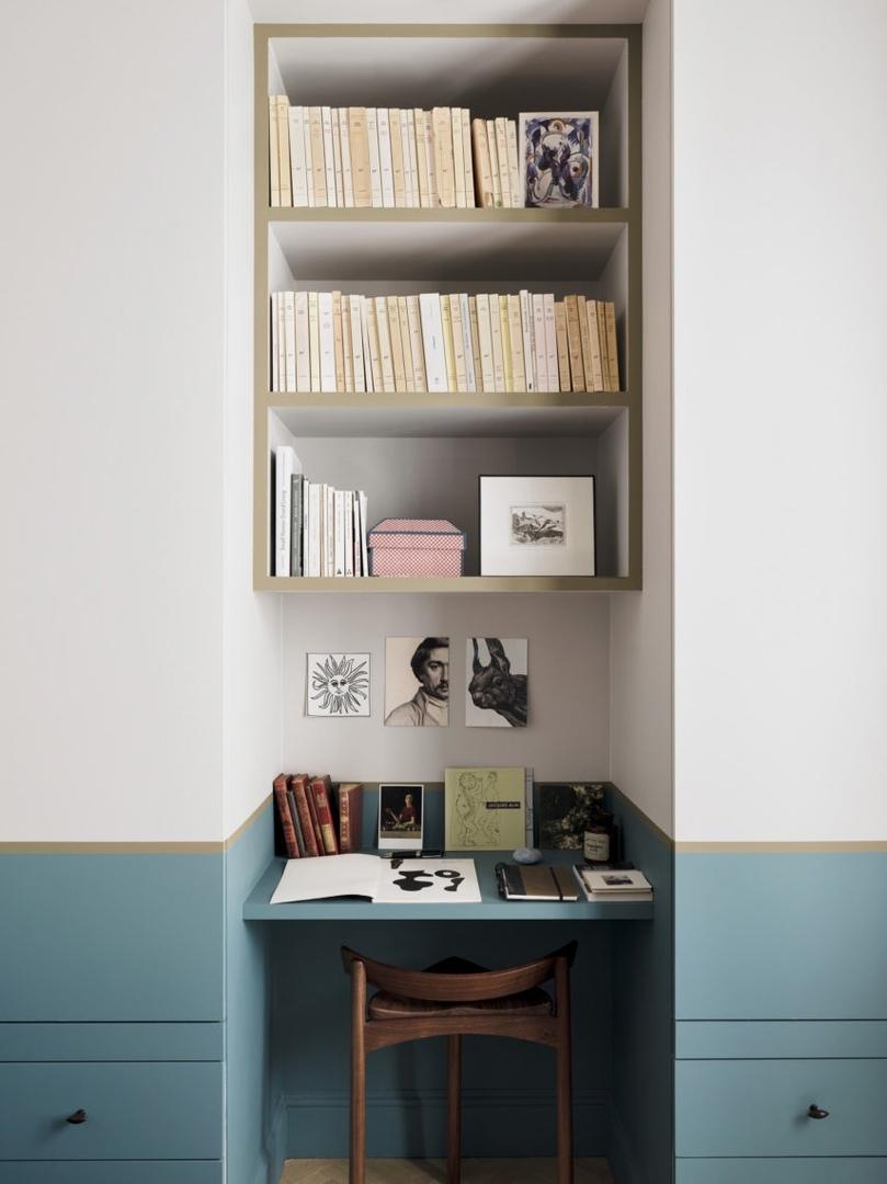Квартира в Париже по проекту Марианны Эвенну