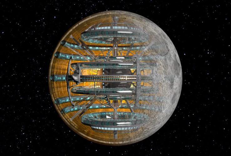 Луна - творение инопланетного разума, изображение №3
