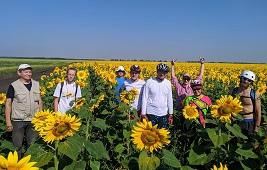 Велосипедисты вновь поехали по Липецкому району