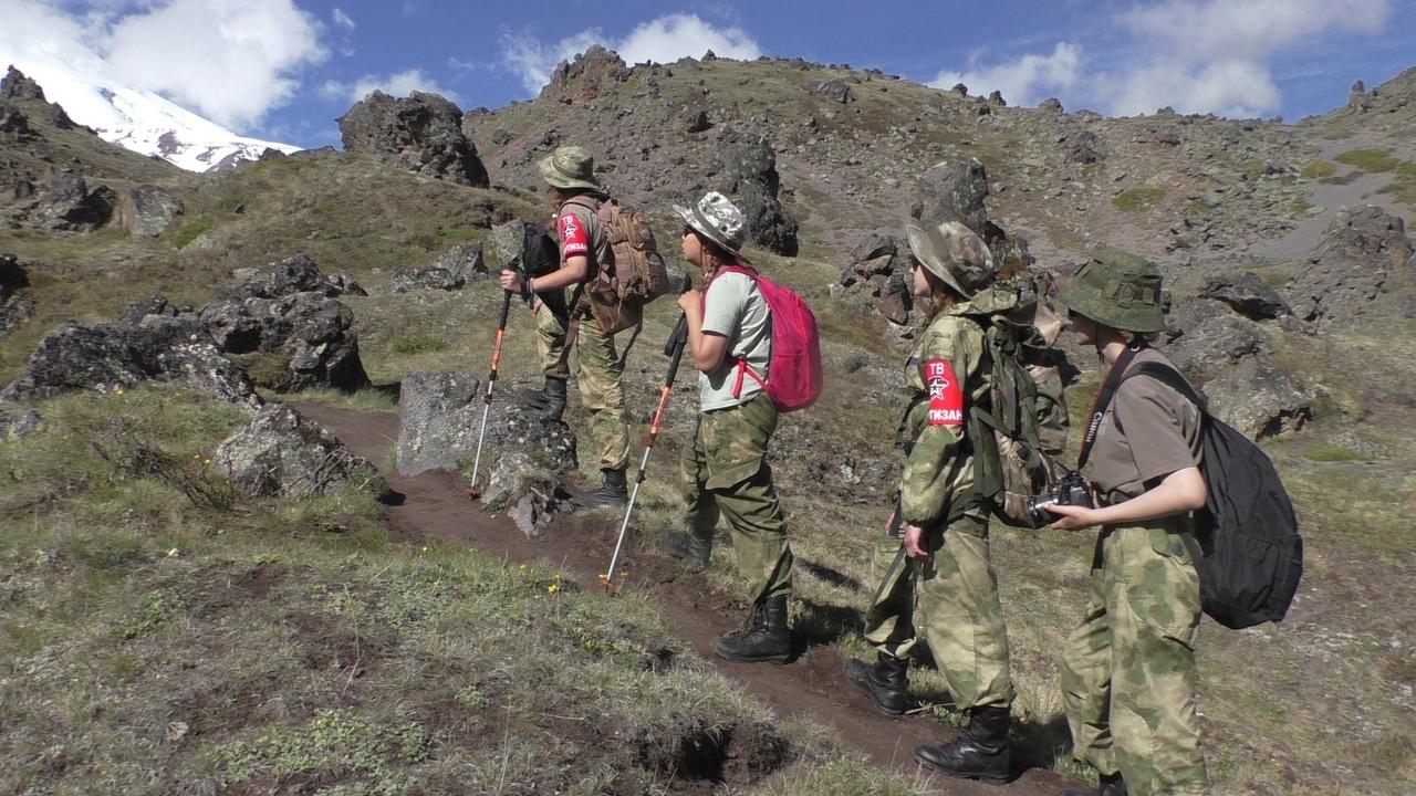 🔥 Ставропольские юнармейцы готовятся покорить самую высокую гору региона