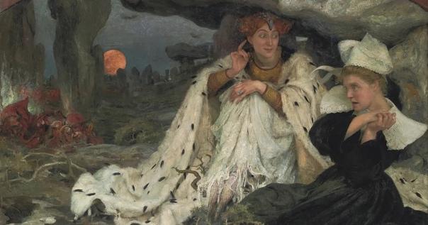 Французский художник-символист Эдгар Максенс