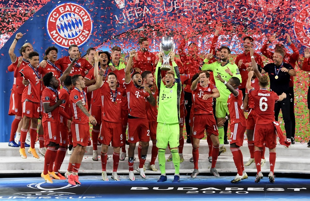 Бавария победитель Суперкубка УЕФА 2019/20